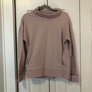 Mauve / Light Pink Lululemon High Neck pullover 6